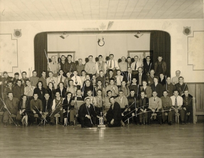 Old Group Photo of the Delhi Archery Club